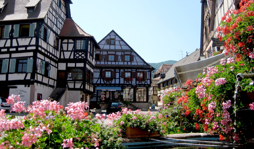 Villages in Alsace
