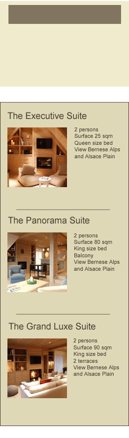 The luxury suites of our exclusive boutique hotel in Alsace