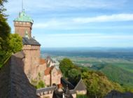 Les châteaux médiévaux près de Colmar
